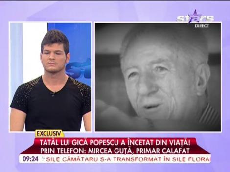 Tatăl lui Gică Popescu a încetat din viaţă