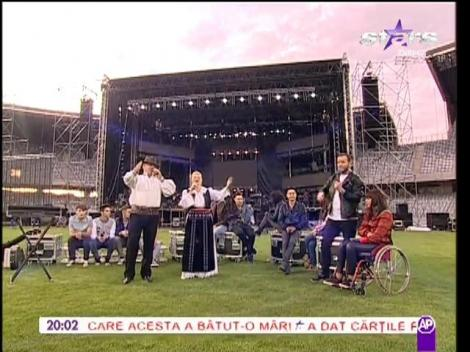 "Show live de la repetiţii ""Forza ZU"""