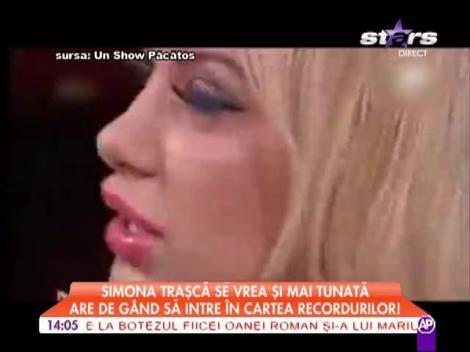 Simona Traşcă vrea să intre în Cartea Recordurilor