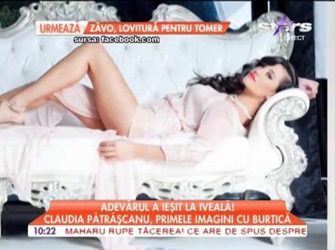 Claudia Pătrăşcanu este însărcinată în trei luni