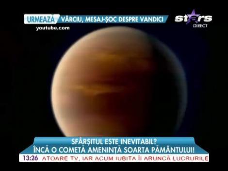 O cometă stă să lovească planeta Marte
