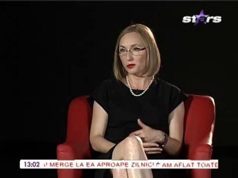 Gabriela Szabo vorbeste despre pierderea tatălui