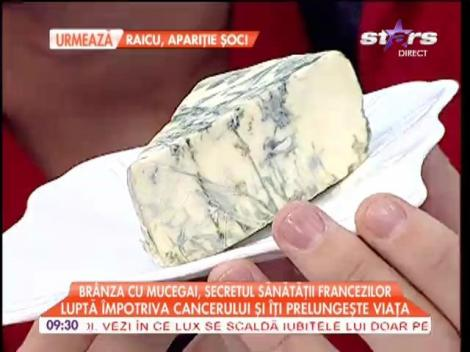 Brânza cu mucegai, secretul sănătăţii francezilor!