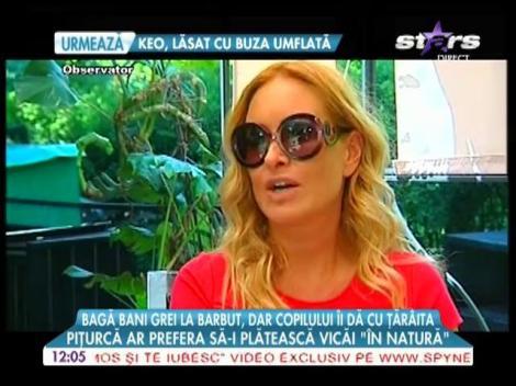 """Victor Piţurcă vrea să-i plătească Vicăi Blochina """"în natură"""""""
