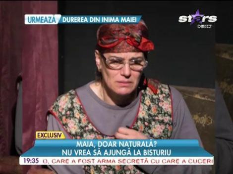 Maia Morgenstern, împotriva operațiilor estetice
