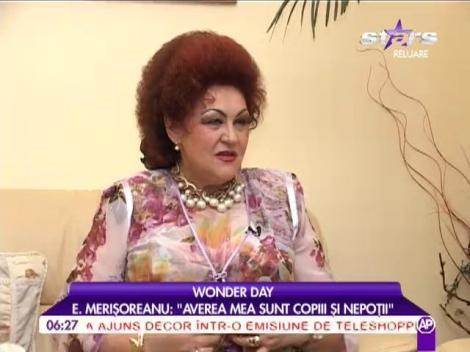 """Elena Merișoreanu: """"Nu mi-am înjectat botox"""""""