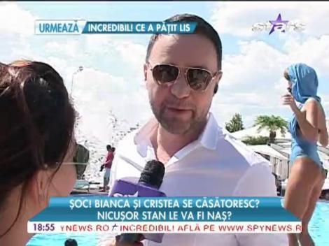Nicuşor Stan crede că Bianca Drăguşanu se va căsători cu Adi Cristea