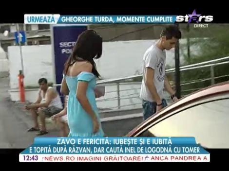 Oana Zăvoranu e topită după Răzvan, dar caută inel de logodnă cu Tomer