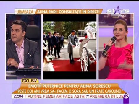"""Alina Sorescu: """"Peste 2 ani vrem să-i facem o soră sau un frate Carolinei"""""""