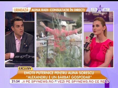 """Alina Sorescu: """"M-am rugat la icoana făcătoare de minuni pentru a rămâne însărcinată"""""""