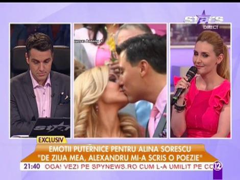 """Alina Sorescu, serbată în platoul """"Agentul VIP"""""""