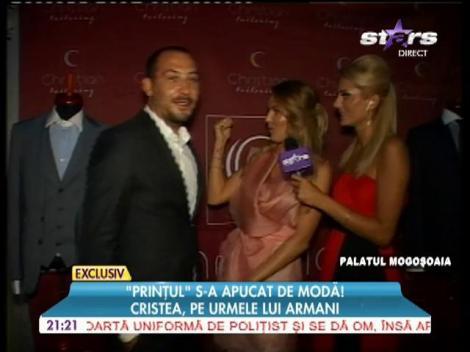 Adrian Cristea, pe urmele lui Armani