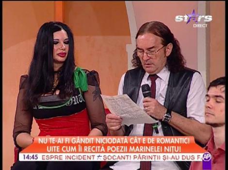 Moment emoţionant! Miron Cozma îi recită o poezie de dragoste Marinelei Niţu!