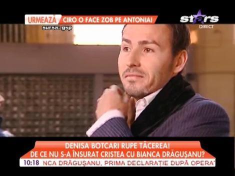 Denisa Botcari rupe tăcerea! De ce nu s-a însurat Adi Cristea cu Bianca Drăguşanu?