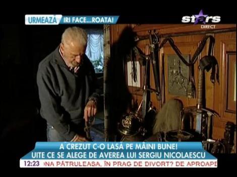 Averea lui Sergiu Nicolaescu, o povară pentru văduva Dana Nicolaescu