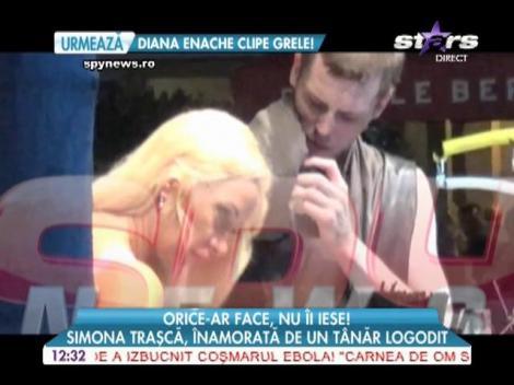 Simona Traşcă, îndrăgostită de un tânăr logodit cu o balerină