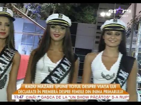 Radu Mazăre, un amiral înconjurat fete frumoase