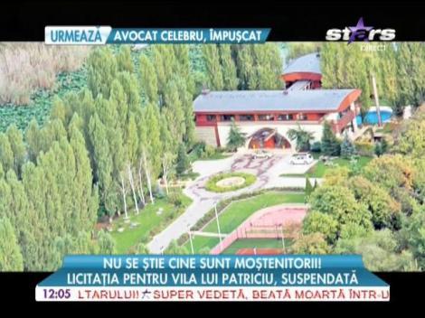 Licitaţia pentru vila lui Dinu Patriciu a fost suspendată