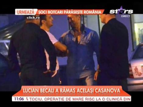 Lucian Becali a rămas acelaşi Casanova