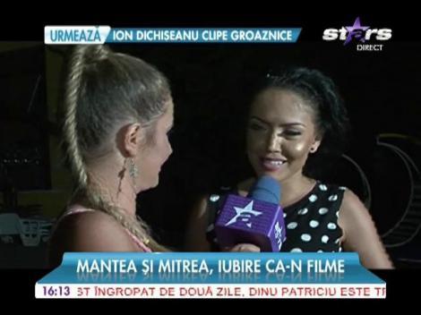 Andreea Mantea şi Cristi Mitrea, iubire ca-n filme!
