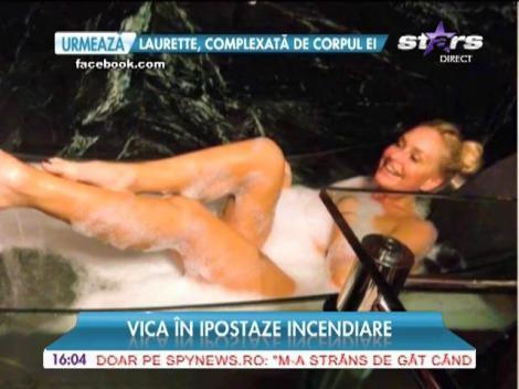 Vica Blochina l-a uitat pe Victor Piţurcă