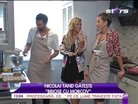 """Nicolai Tand gătește """"Brioșe cu morcov"""""""