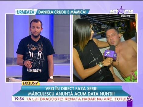 Costin Mărculescu anunță data nunții