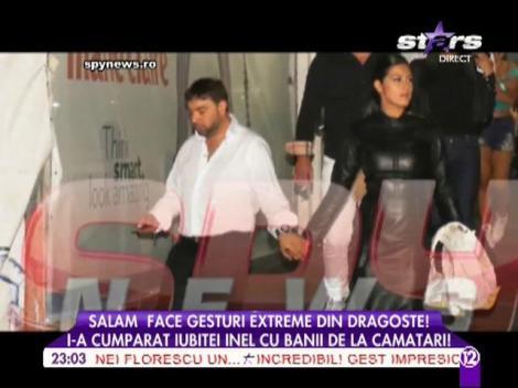 Florin Salam i-a cumpărat inel iubitei cu bani de la cămătari