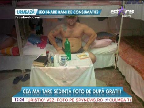 Nuţu Cămătaru, şedinţă foto după gratii!