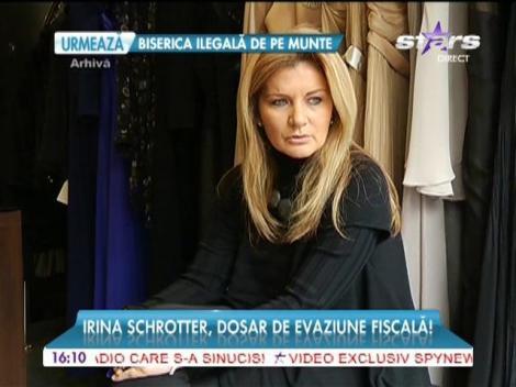 Irina Schrotter, anchetată de DIICOT pentru evaziune fiscală