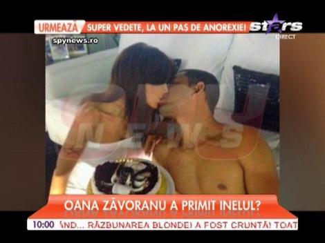Oana Zăvoranu a primit un inel de la noul iubit