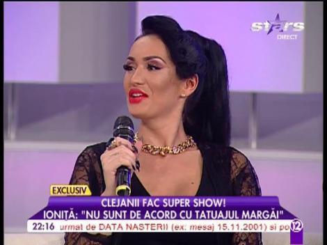 """Ioniță de la Clejani: """"Nu sunt de acord cu tatuajul fiicei mele"""""""