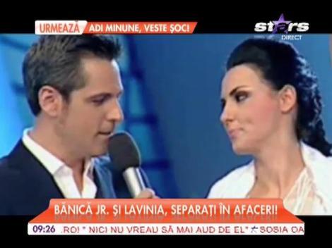 Ştefan Bănică şi Lavinia Pârva, separaţi în afaceri!