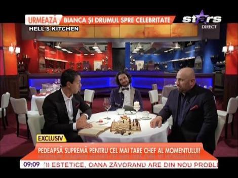 Chef Florin Dumitrescu, pedepsit să mănânce 4 kg de piure de cartofi!