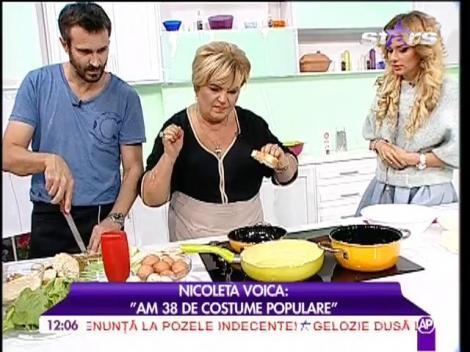 """Nicoleta Voica: """"Am 38 de costume populare!"""""""
