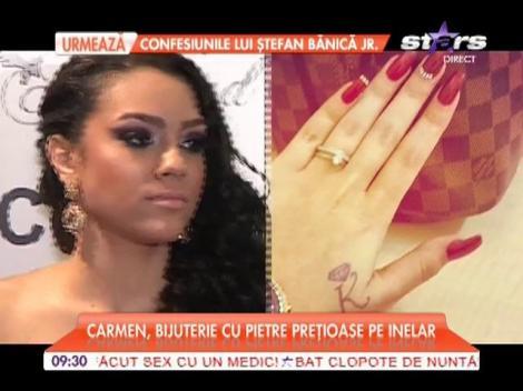Fiica lui Adrian Minune a primit inelul de logodnă
