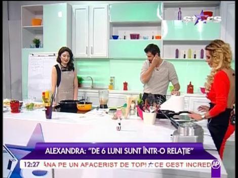 """Alexandra Ungureanu: """"Trăiesc o relație la distanță"""""""