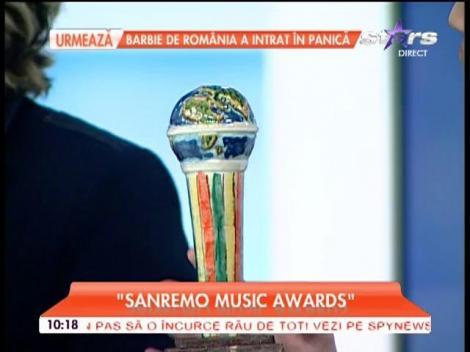"""Tudor Turcu, premiat la Sanremo pentru cea mai bună interpretare rock-fusion: """"Le doresc tuturor artiştilor să aibă şansa să ajungă acolo!"""""""
