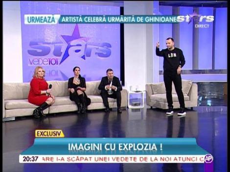 """Maşina Margheritei de la Clejani, în flăcări! Vedeta a primit vestea în direct: """"Fac infarct"""""""