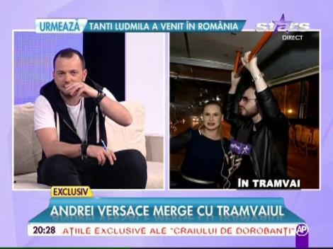 """Morar l-a provocat, Versace a executat! """"Regele fiţelor"""" renunţă la fiţe şi merge cu tramvaiul!"""