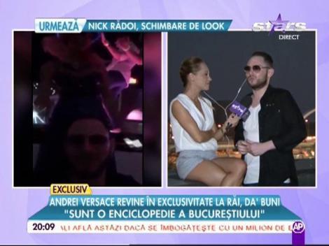 """VIDEO de senzație! Regele fiţelor, o """"victimă"""" a problemelor! Andrei Versace nu se dezminte: """"Aşa se petrece corect a cincea zi de weekend!"""""""