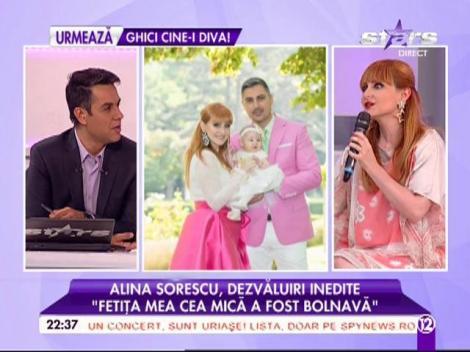 """Alina Sorescu, dezvăluiri inedite: """"Fetiţa mea cea mică a fost bolnavă"""""""