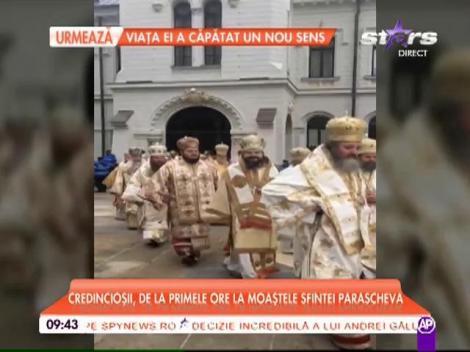 Creştinii ortodocşi o celebrează pe Sfânta Parascheva