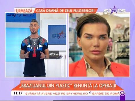 """""""Brazilianul din plastic"""" vrea să renunţe la intervenţiile estetice"""