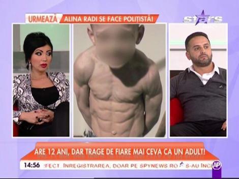 De la 5 ani, trage de fiare ca un adult! Cum a ajuns să arate Giuliano Stroe, micul Hercule, la doar 12 ani. Este un pachet de mușchi
