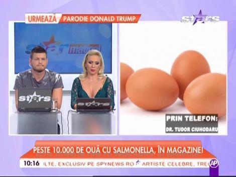 Aveți grijă ce le dați copiilor! Peste 10.000 de ouă cu salmonella, în magazinele din România