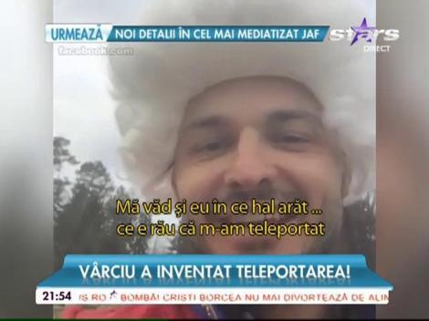 Liviu Vârciu a inventat teleportarea! Vedeta și-a lăsat fanii mască, nimeni nu l-a mai văzut într-o asemenea ipostază! (VIDEO)