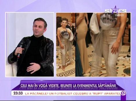 """Ținutele celebrităților din România, în vizorul unui stilist cunoscut: """"Adelina Pestrițu se străduiește prea mult"""""""