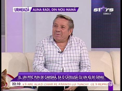 Ion Paliu și cățelușa sa cu iq de geniu fac spectacol în platoul agentului Vip