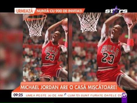 Michael Jordan are o casă care se învârte după soare